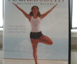 Jennifer Aniston's YOGALOSOPHY, a workout for life!