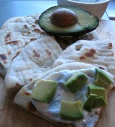 Greek Yogurt Pita Appetizer