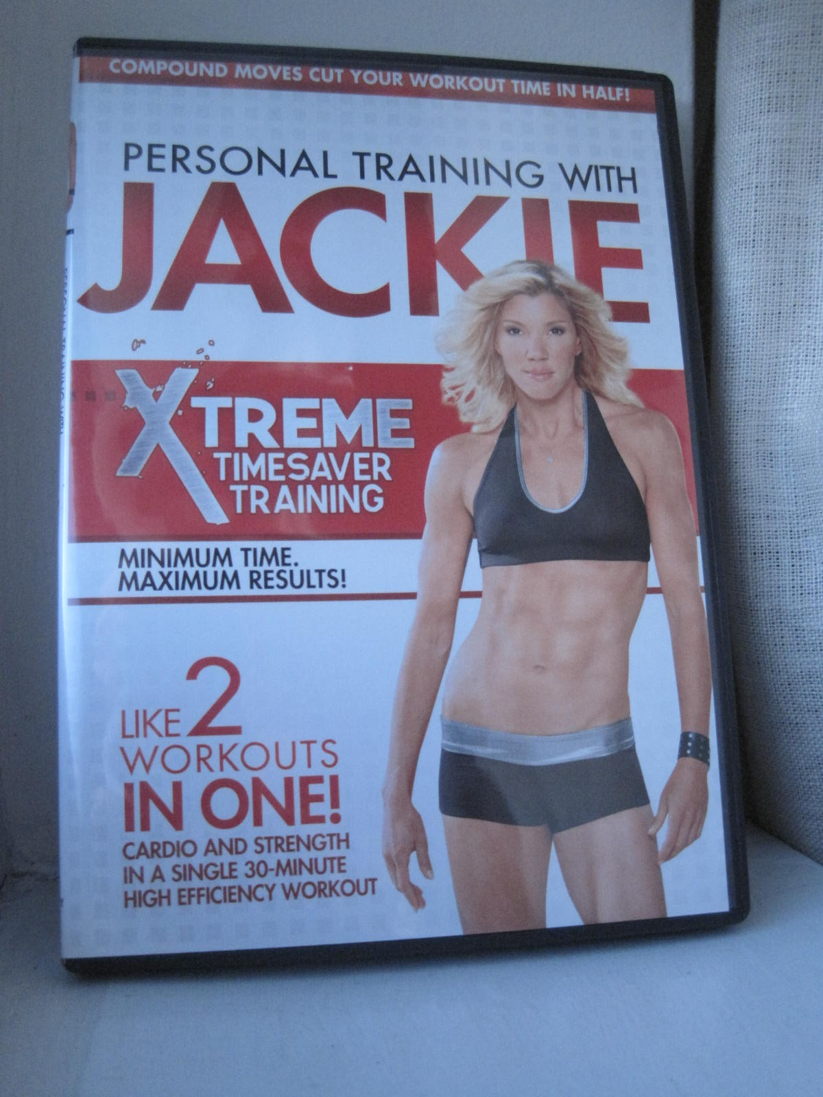Personal Training With Jackie Xtreme Timesaver Training DVD, My Thoughts
