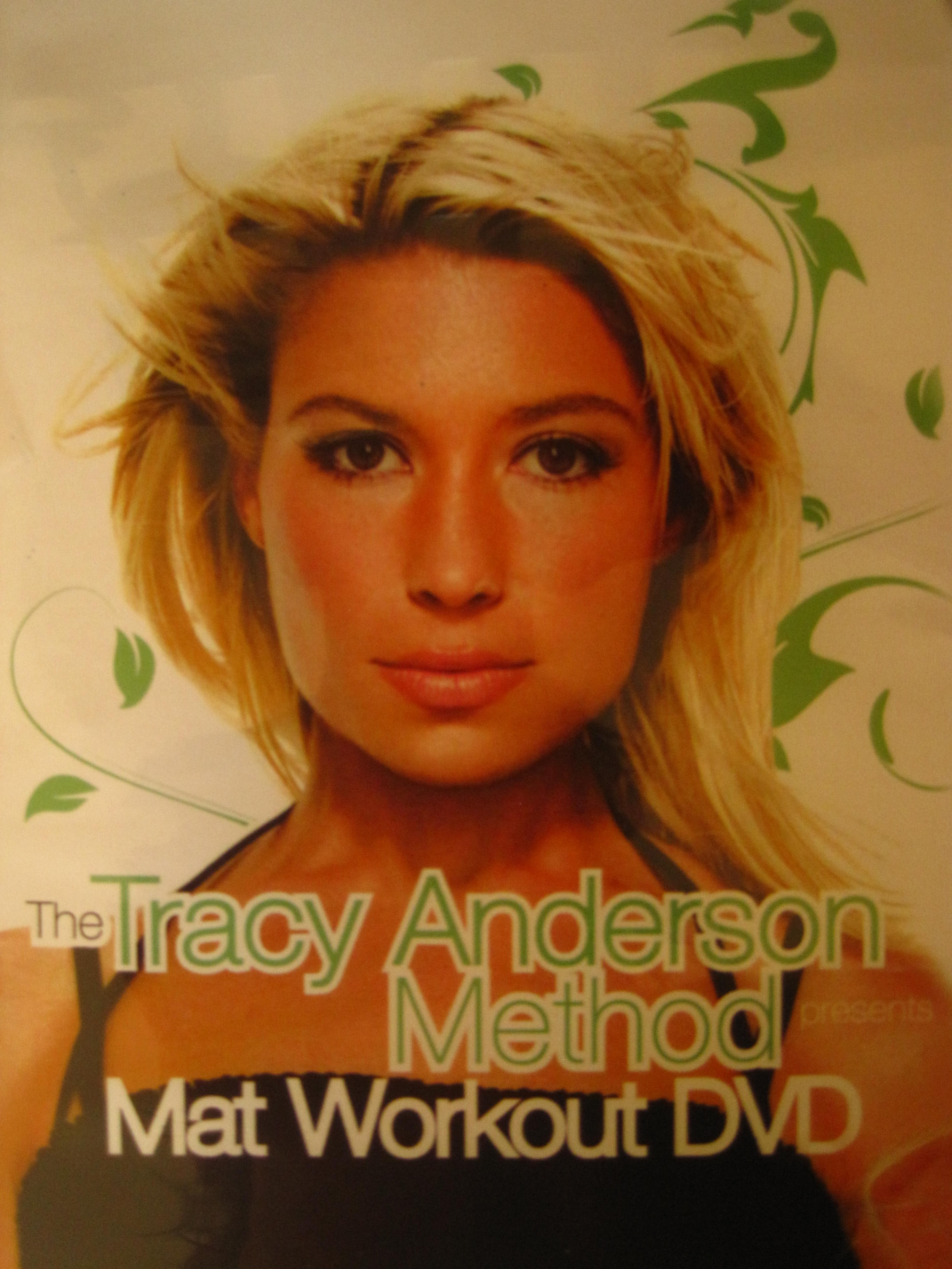 Celebrity trainer Tracy Anderson's mat workout DVD, my honest opinion